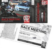 Two tickets to Castle Combe Race Circuit for a 2022 Race Day-gifted by Castle Combe Race Circuit
