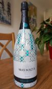 150cl Presentation Bottle 'Mas Macia' Cava Brut Nature Reserva-from a small family producer Can