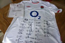 England Rugby 2020/2021 season replica shirt,