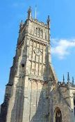 Tour of St John Baptist Church and tower, Cirencester,