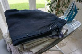 Pressed for time - 5 hours of enthusiastic ironing,