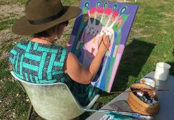 Half day Intuitive Art Workshop with the Churn's very own Amanda Griffiths-Explore your creative