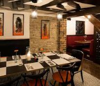 3-course meal for two with bottle of house wine at Teatro Restaurant,