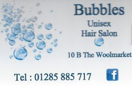 Wet, wet, wet - Wet cut by Bubbles Salon,