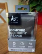 KitSound Boom Cube Bluetooth speaker-gifted by Tesco Extra