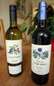 75cl bottle of Chateau Coupe-Roses Minervois La Bastide (red) and 750ml bottle of Opal Ridge