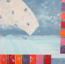 ARR DRUIE BOWETT (1924-1998), 'The Accent Perimeter 95', oil on canvas, signed and dated (19)95 to