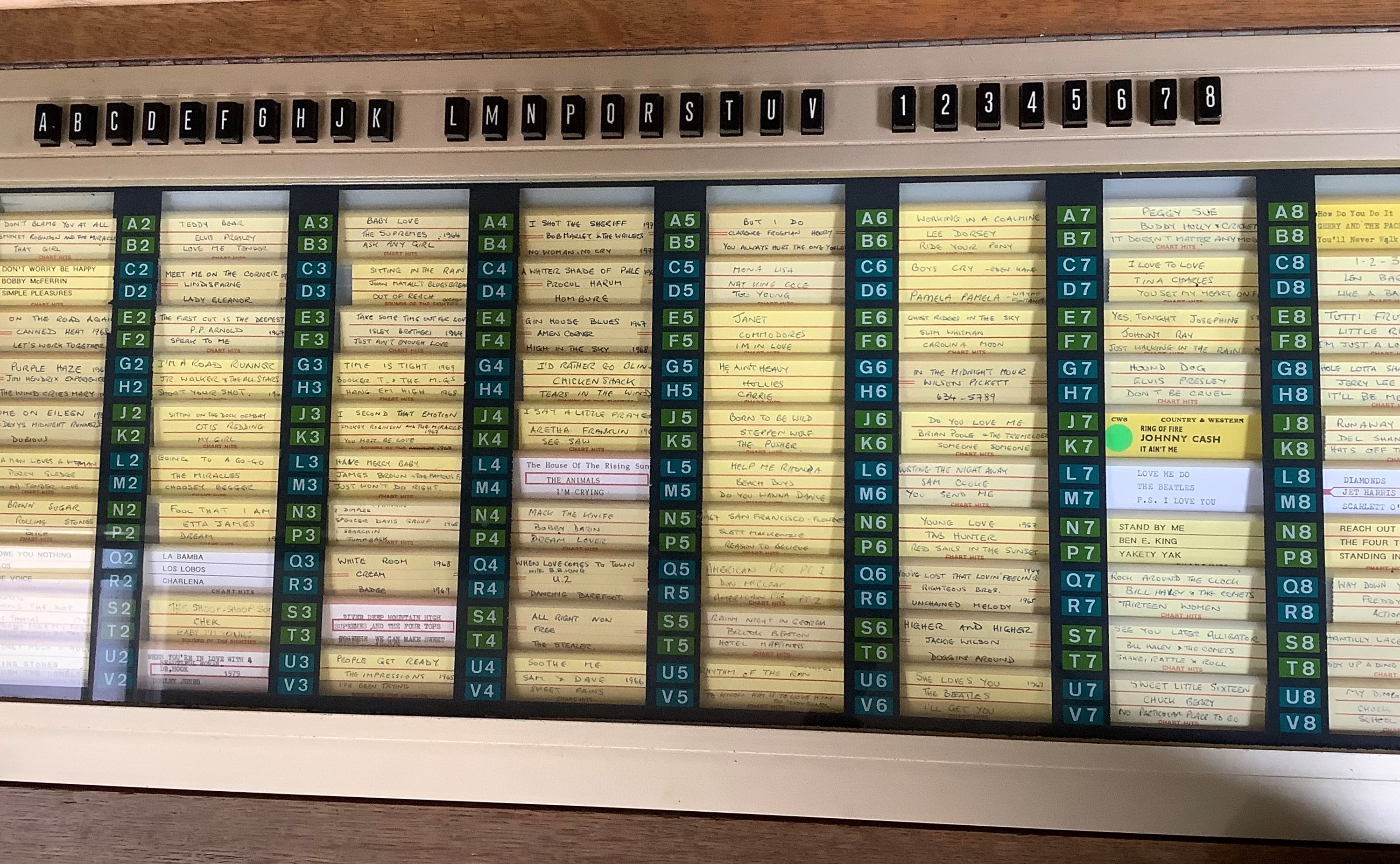 An NSM Consul 160 juke box, in oak cabinet, the rectangular top inset with a panel of a rhine - Image 3 of 6