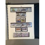 One SG NZ stamp album 20th century to 2010 to include 2/= dark blue George V Admiral (used),