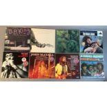 A quantity of LP's to include: John Mayall - Crusade, John Mayall - Diary Of A Band Vol One, John
