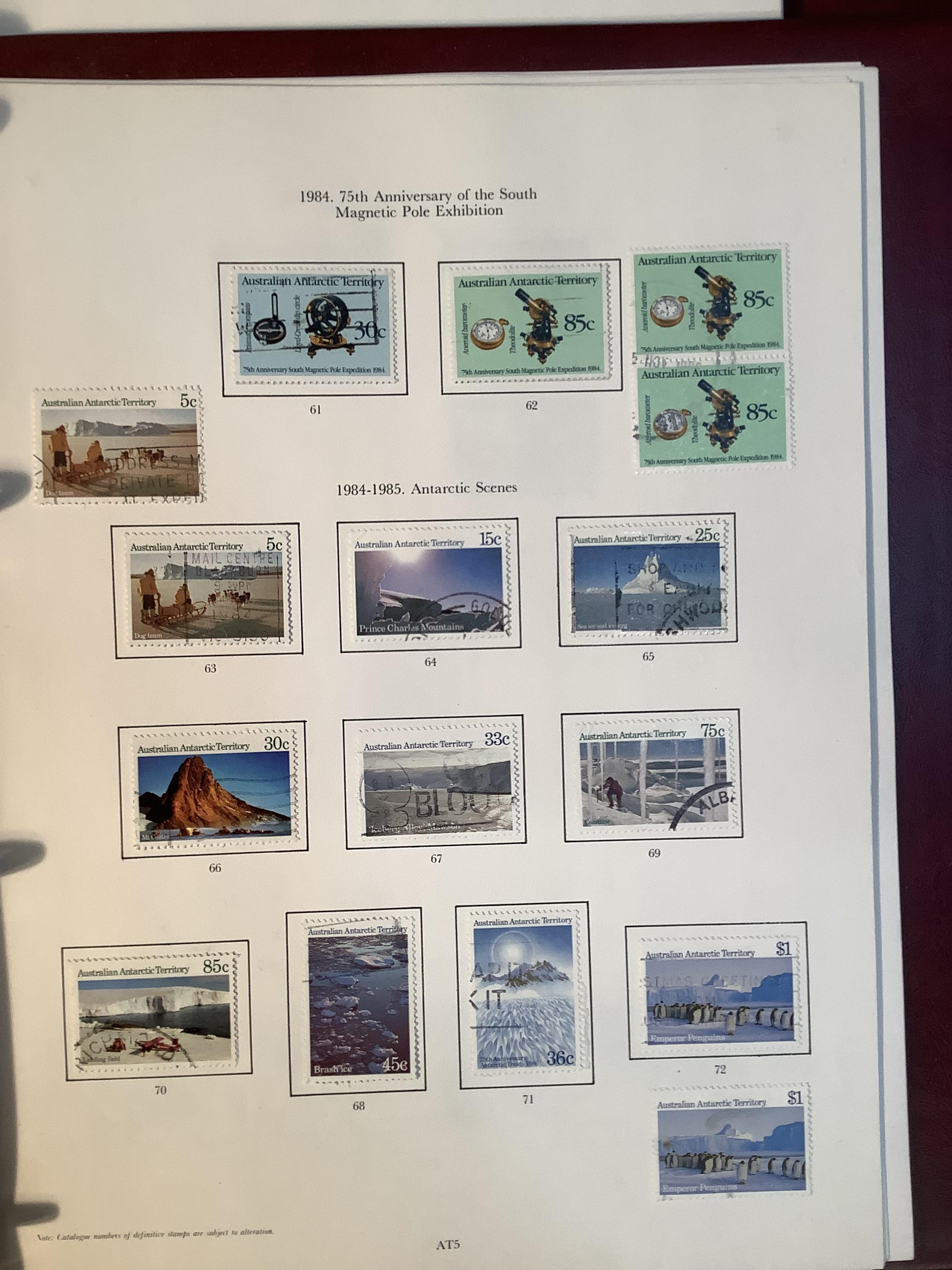 Two SG Australia stamp albums, Australian states for 1856 to 1913, Kangaroos though 20th century - Image 6 of 7