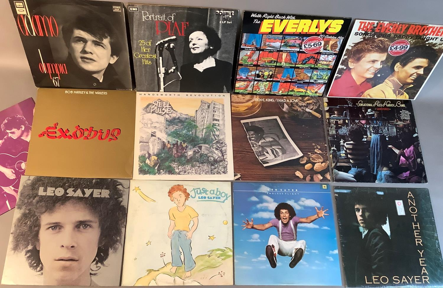 A quantity of LP's to include: Adamo - Olympia '67, Edith Piaf - Portrait of Piaf, Everly Brothers - - Image 2 of 4