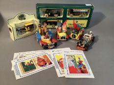 Corgi toys - Chitty Chitty Bang Bang die cast vehicle, Corgi Toys comics Noddy's car (2), Corgi Toys