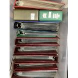 One plastic box containing a mixture of QEII FDC's and presentation packs; together with Regional