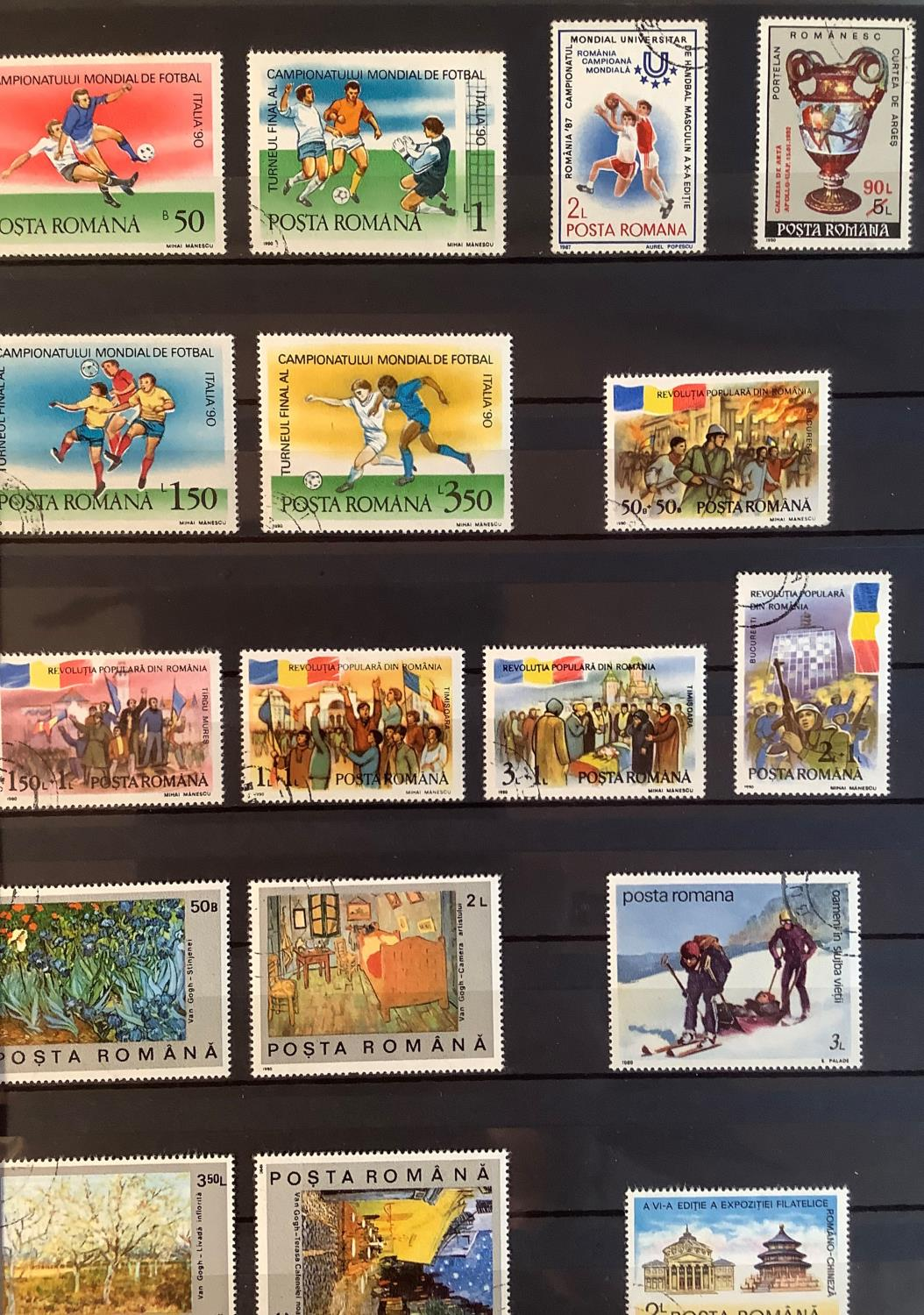 Three Stock Books with a large collection of Romanian postage stamps dating from 1925 to 1990s, a - Image 6 of 7