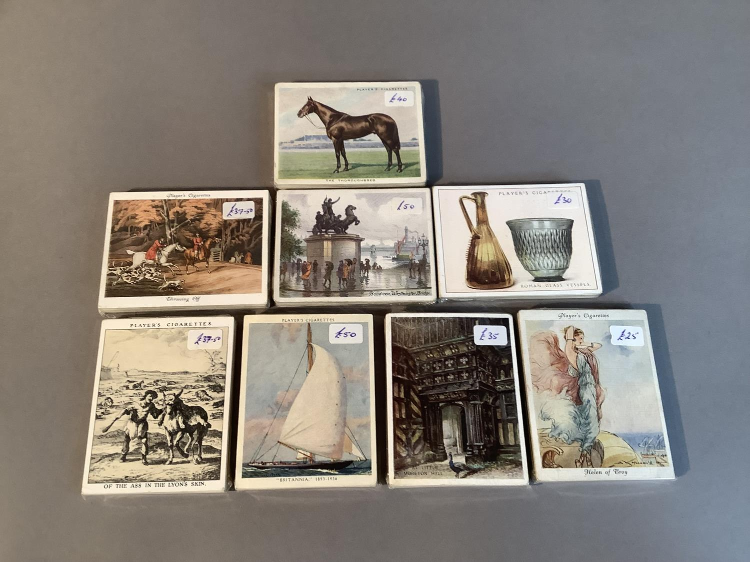 Cigarette cards, John Player & Sons, to include Picturesque London (25), Portals of the Past (25), - Image 3 of 3