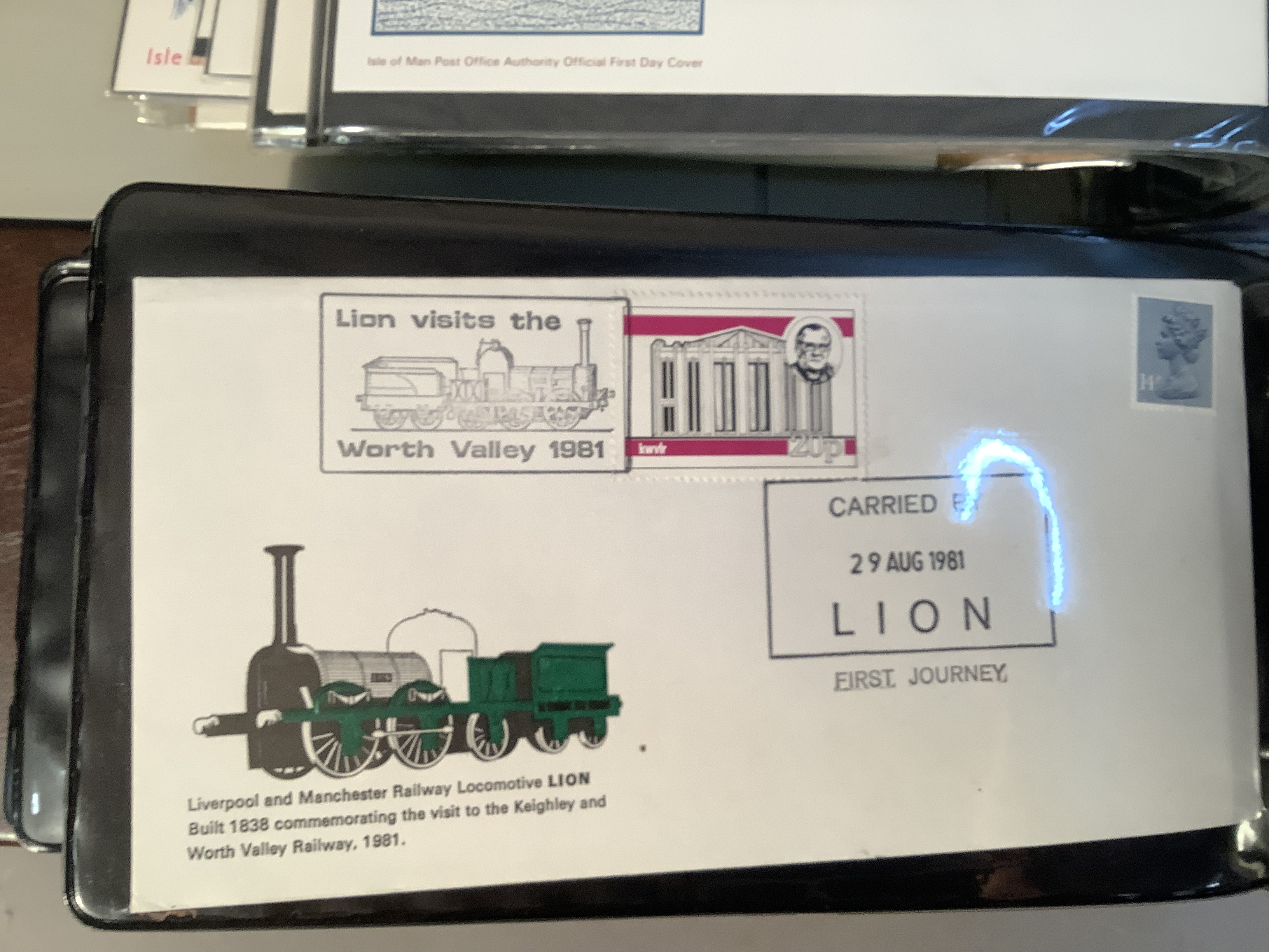 Two ring folders with approximately 100 world FDC's including India, Australia and Isle of Man, - Image 3 of 7