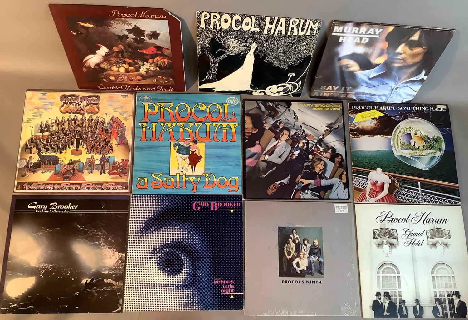 A quantity of LP's to include: Procul Harum - Procul Harum, Procul Harum - A Salty Dog, Procul Harum - Image 2 of 3