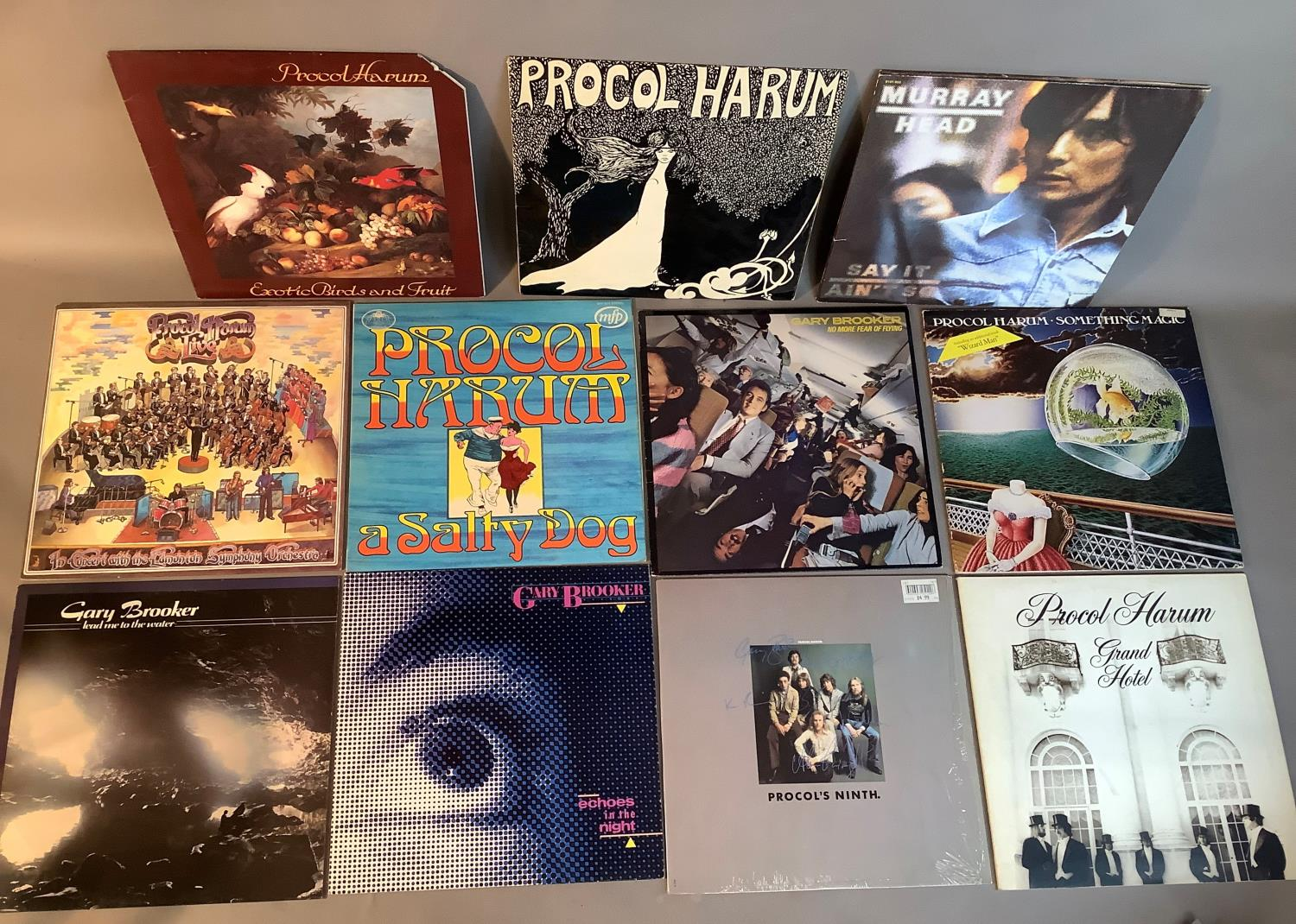 A quantity of LP's to include: Procul Harum - Procul Harum, Procul Harum - A Salty Dog, Procul Harum - Image 3 of 3