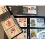 Collection of GB EIIR FDCs including Regionals 1960 to late 1990s, approximately 270 plus collection
