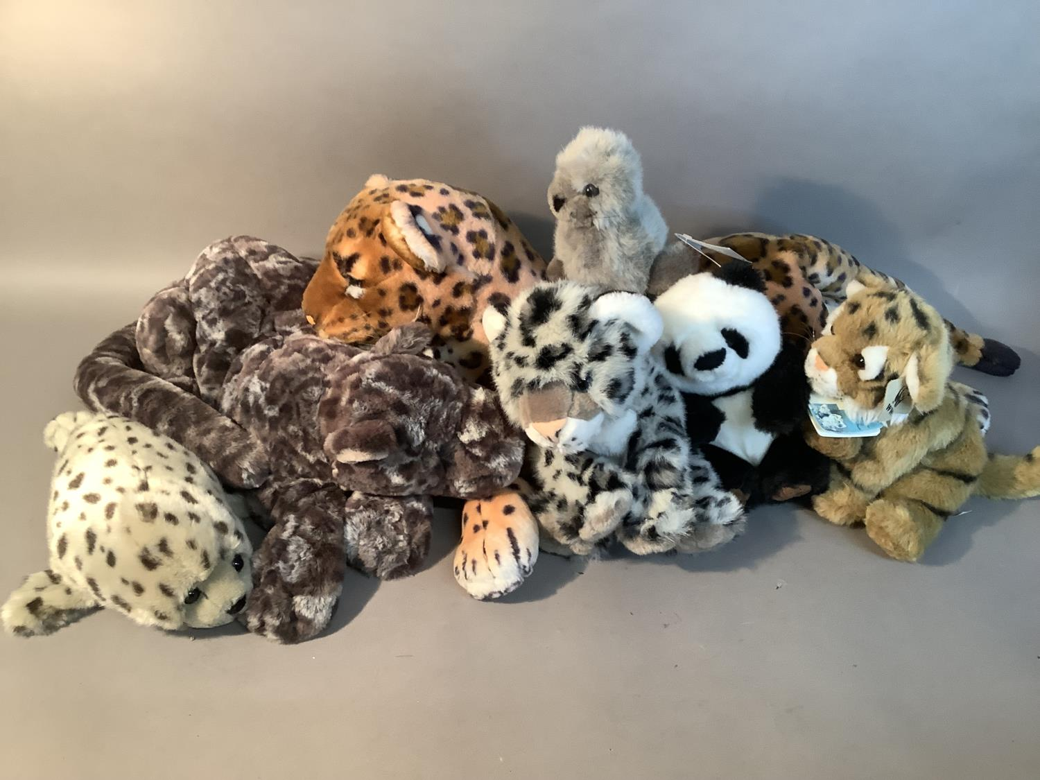 A small quantity of soft toys by Jellycat, Suma, WWF and others - Image 2 of 3