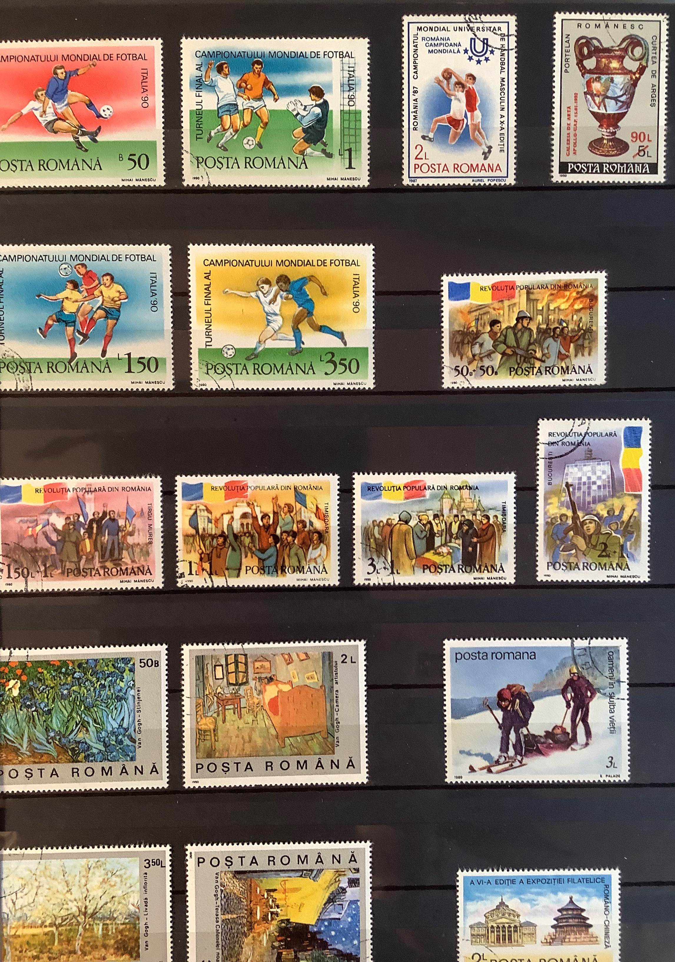Three Stock Books with a large collection of Romanian postage stamps dating from 1925 to 1990s, a - Image 7 of 7