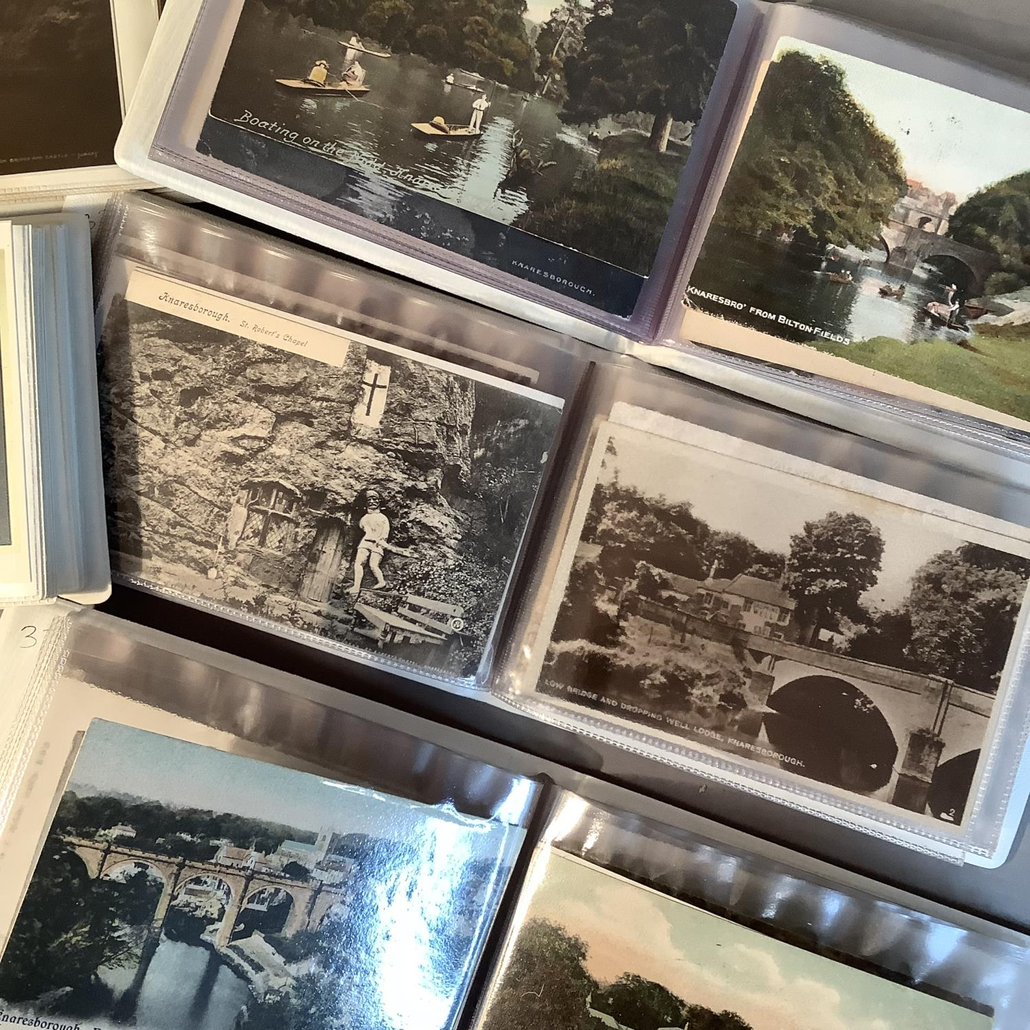 Six albums, local interest, Knaresborough, early to mid 20th century, typical views of the area also - Image 2 of 4