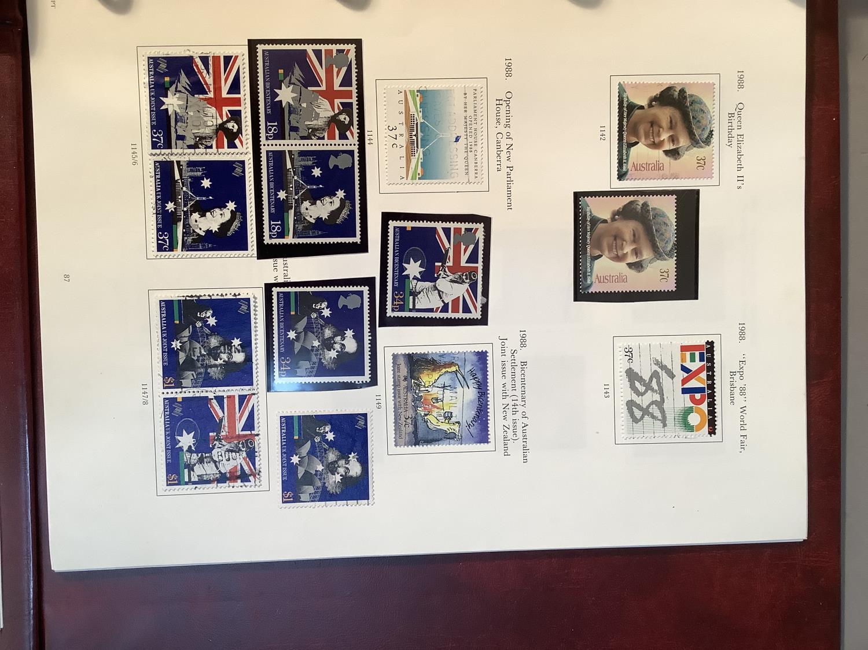 Two SG Australia stamp albums, Australian states for 1856 to 1913, Kangaroos though 20th century - Image 2 of 7