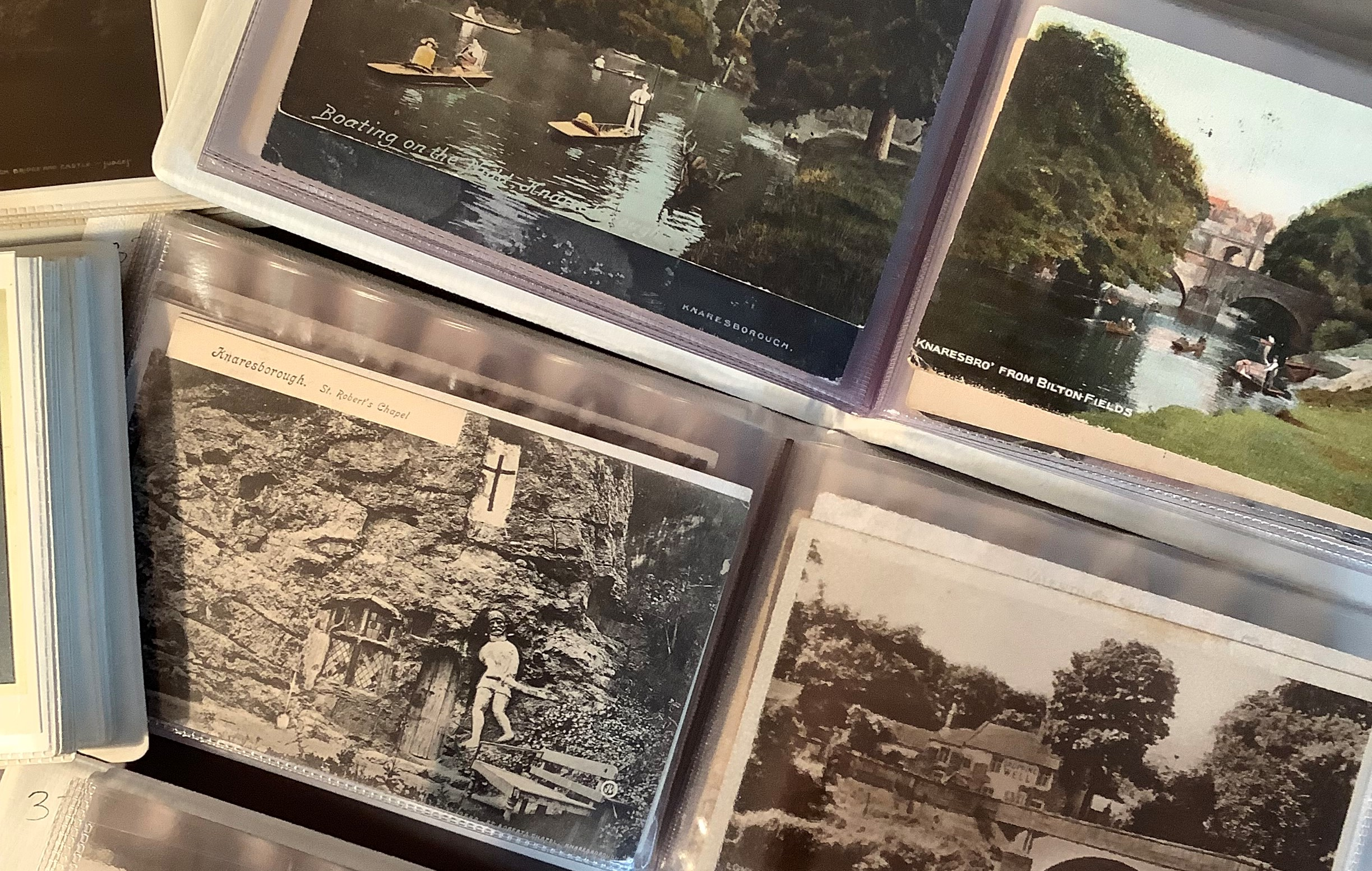 Six albums, local interest, Knaresborough, early to mid 20th century, typical views of the area also - Image 3 of 4