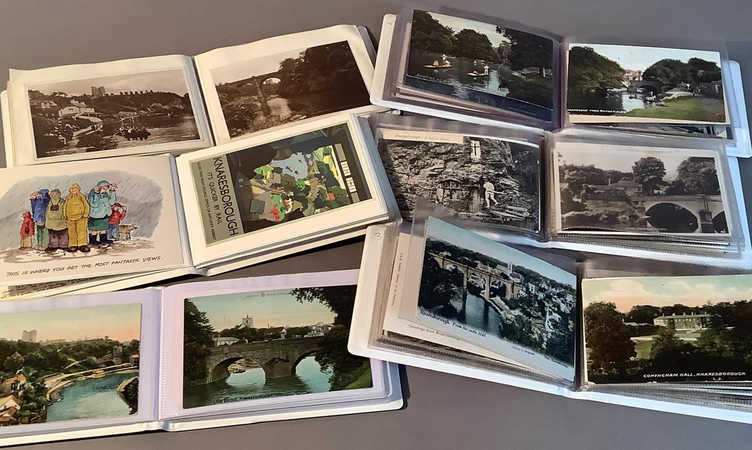 Six albums, local interest, Knaresborough, early to mid 20th century, typical views of the area also - Image 4 of 4