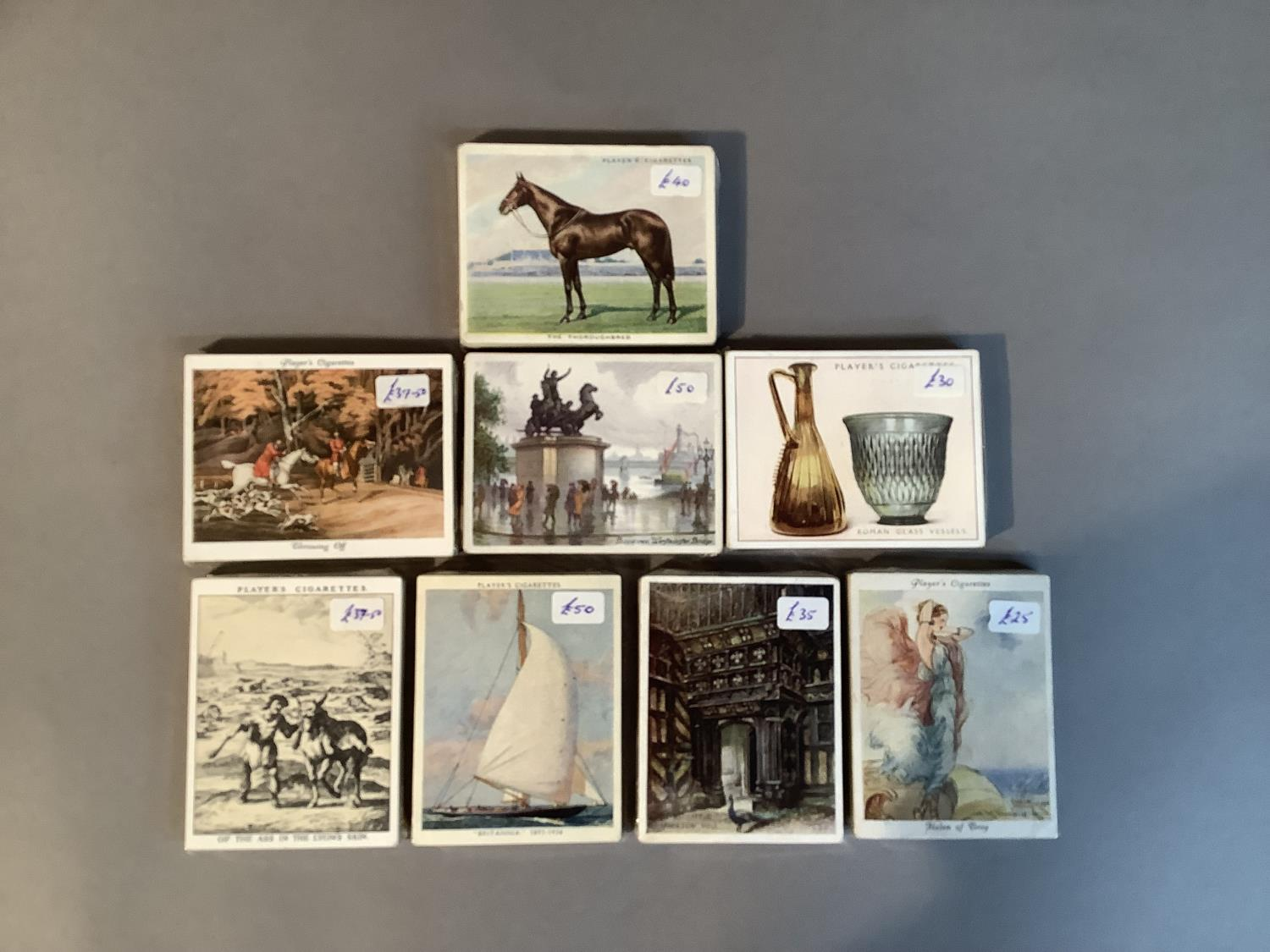 Cigarette cards, John Player & Sons, to include Picturesque London (25), Portals of the Past (25), - Image 2 of 3
