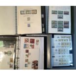 GB Regional Stock Books/albums (4), extensive collection of mint, unused stamps, Guernsey, Jersey