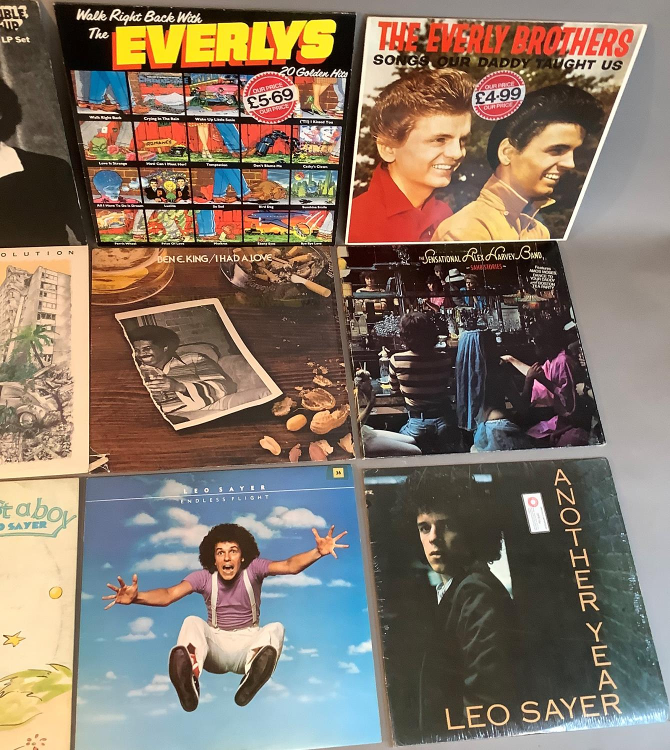 A quantity of LP's to include: Adamo - Olympia '67, Edith Piaf - Portrait of Piaf, Everly Brothers - - Image 4 of 4