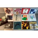 A quantity of LP's to include: Loudon Wainwright - Album II, Loudon Wainwright - Album III, Loudon