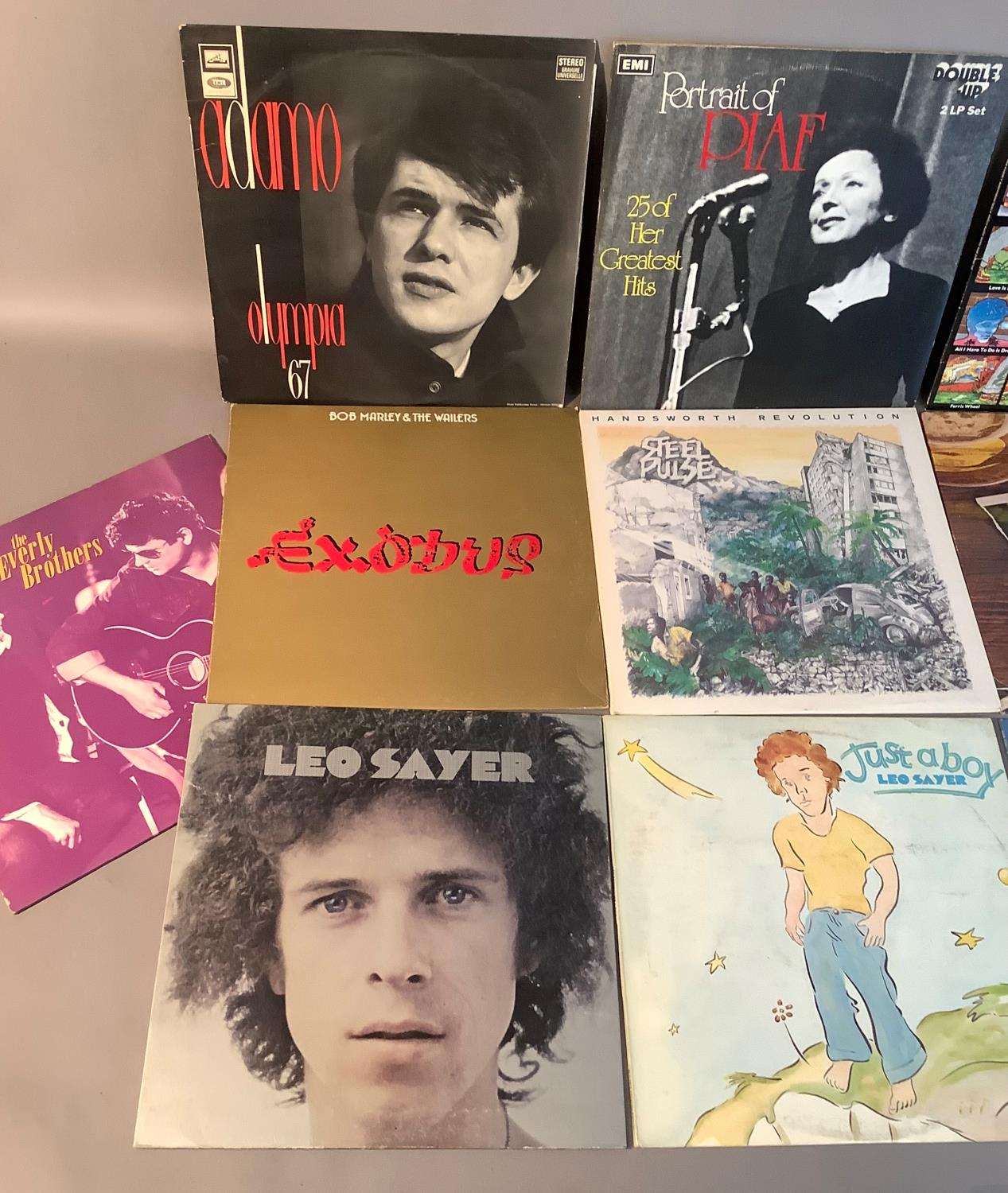 A quantity of LP's to include: Adamo - Olympia '67, Edith Piaf - Portrait of Piaf, Everly Brothers - - Image 3 of 4