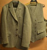 Fine Christopher Dawes Country Clothing Derby Tweed full sporting suit – comprising Jacket and