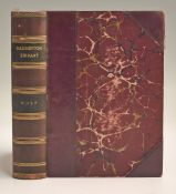 "Hutchinson, Horace G - ""Golf - Badminton Library"" special 4th ed 1893 in half leather and marble"
