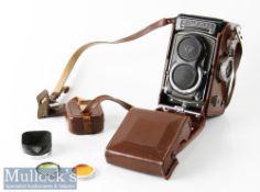 Rolleiflex T 2131780 TLR camera Franke & Heidecke Carl Zeiss Tessar 1:3,5 f=75mm synchro-compur,