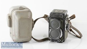 Rolleiflex Grey Baby 2056248 TLR camera Franke & Heidecke Schneider/Xenar 1:3,5/60mm with lens