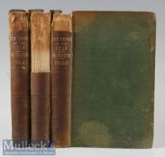 Russia - The Empire Of The Czar by The Marquis de Custine 1843 Books In 3 volumes, 311 pages, 349