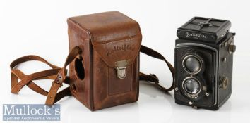 Old Standard Rolleiflex 249522 TLR camera Franke & Heidecke Tessar/Zeiss 1:3,8 f=75mm Compur, with