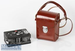 Russian Horizon FT-2 Panoramic Camera marked 622743 f=5cm 1:5, letters in Cyrillic to top with