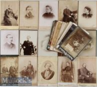 Assorted Victorian / early 20th century Cabinet Card Selection – mostly of portrait photographs,