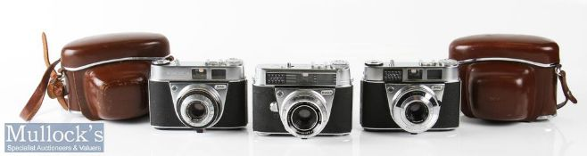 Kodak Cameras to include Retina automatic II 79837 Schneider f:2,8/45mm, Retinette 1A 476938