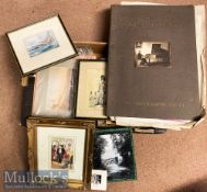 Quantity of Assorted Prints and Photographs of various ages and subjects, photographs mostly laid on