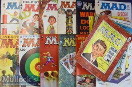 Selection of Mad Magazine includes the following Nos 1, 13, - 37, 40, 41, 45, 46, 58, 59 and 73,