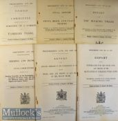 United Kingdom Government Document – Profiteering Acts 1919 and 1920 includes various Committee