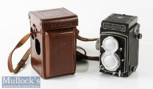 Rolleicord V 1525470 TLR camera Franke & Heidecke Xenar/Schneider 1:3,5/75 synchro-compur with