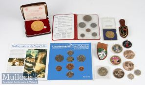 Sir Ian Gourlay Interest Coins and Medals from his personal ownership including honorary French