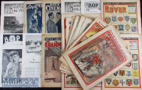 Selection of 1890s to 1960s Assorted Children's Comic Books / Magazines consisting of Harpers